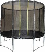 Батут KIDIGO™ VIP BLACK 244 см с защитной сеткой BTV244
