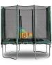 Прямоугольный батут  KIDIGO 215 х 150 см. с защитной сеткой