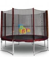 Защитная сетка для батута KIDIGO  MAROON 304 см.