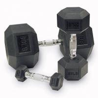 Гантельный ряд 10 пар 1-10 кг хром D-03