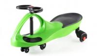 Smart car green с полиуритановыми колесами