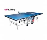 стол теннисный butterfly playback indoor rollaway