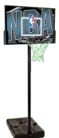 "Баскетбольная стойка SPALDING NBA Logoman 44"" Rectangle Composit"