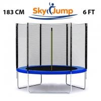 Батут SkyJump 6 фт., 183 см. з захисною сіткою