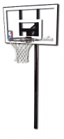 "Баскетбольная стойка Spalding Silver In-Ground 44"" Polycarbonate 88596CN"