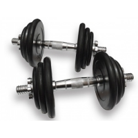 Гантели наборные - пара - 31 кг   Ручка хром DB - 02 - 31кг