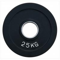 Диск олимпийский обрезиненный черный 2,5кг.RCP18-2,5